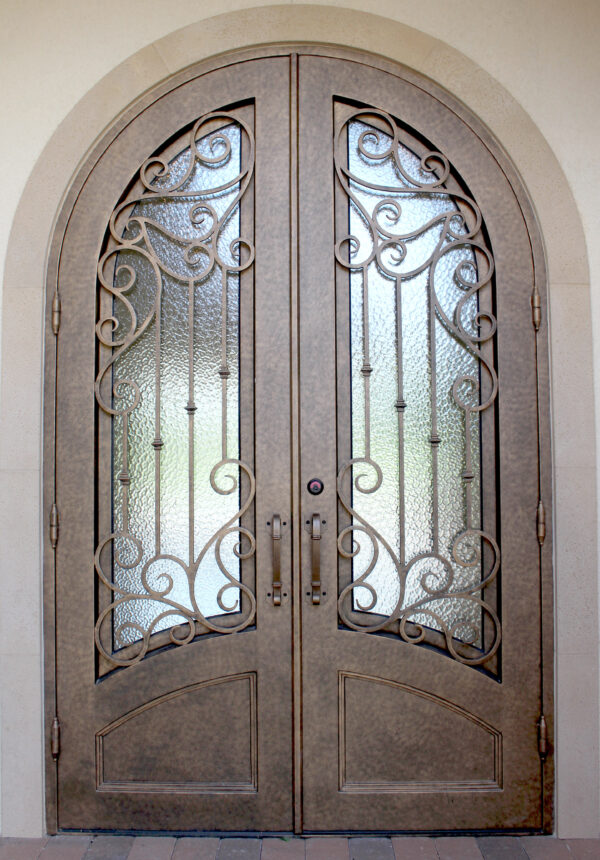 Custom Wrought Iron Doors | Suncoast Iron Doors | Fort Meyers, FL | Benton