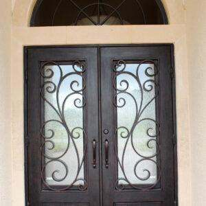 Custom Wrought Iron Doors | Suncoast Iron Doors | Fort Meyers, FL | Bona Fotuna