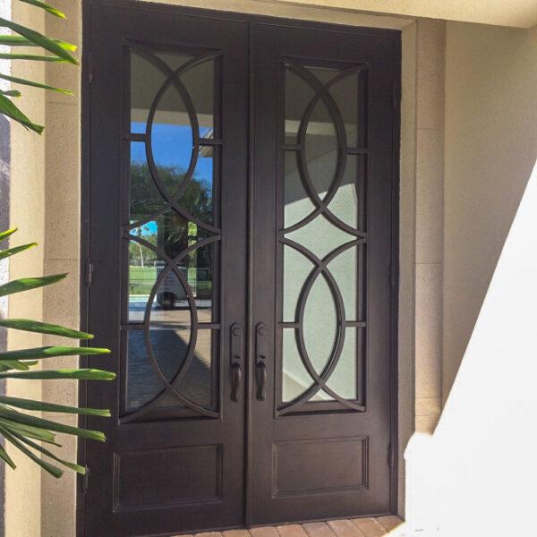 Custom Wrought Iron Doors | Suncoast Iron Doors | Fort Meyers, FL | Style: Intrepid