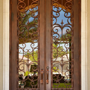 Custom Wrought Iron Doors | Suncoast Iron Doors | Fort Meyers, FL | Style: Lafayette