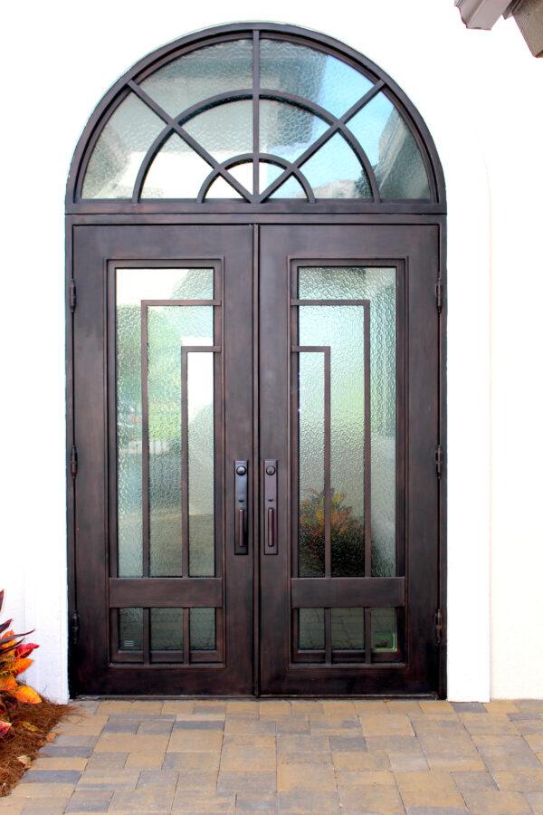 Custom Wrought Iron Doors | Suncoast Iron Doors | Fort Meyers, FL | Style: Lakoya