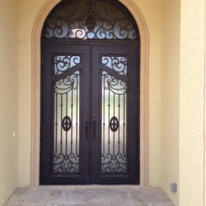 Custom Wrought Iron Doors | Suncoast Iron Doors | Fort Meyers, FL | Style: Luxury