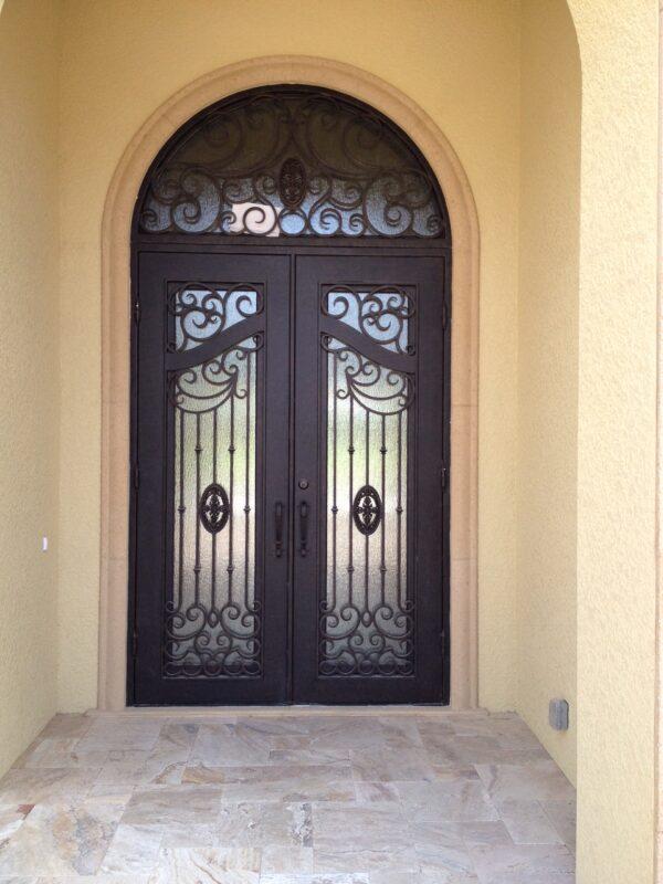 Custom Wrought Iron Doors | Suncoast Iron Doors | Fort Meyers, FL | Style: Luxury