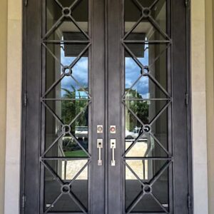 Custom Wrought Iron Doors | Suncoast Iron Doors | Fort Meyers, FL | Miramar