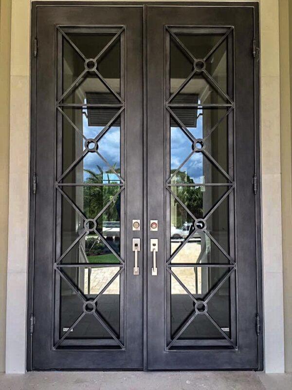 Custom Wrought Iron Doors | Suncoast Iron Doors | Fort Meyers, FL | Miramar