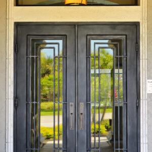 Custom Wrought Iron Doors | Suncoast Iron Doors | Fort Meyers, FL | Style: Naples