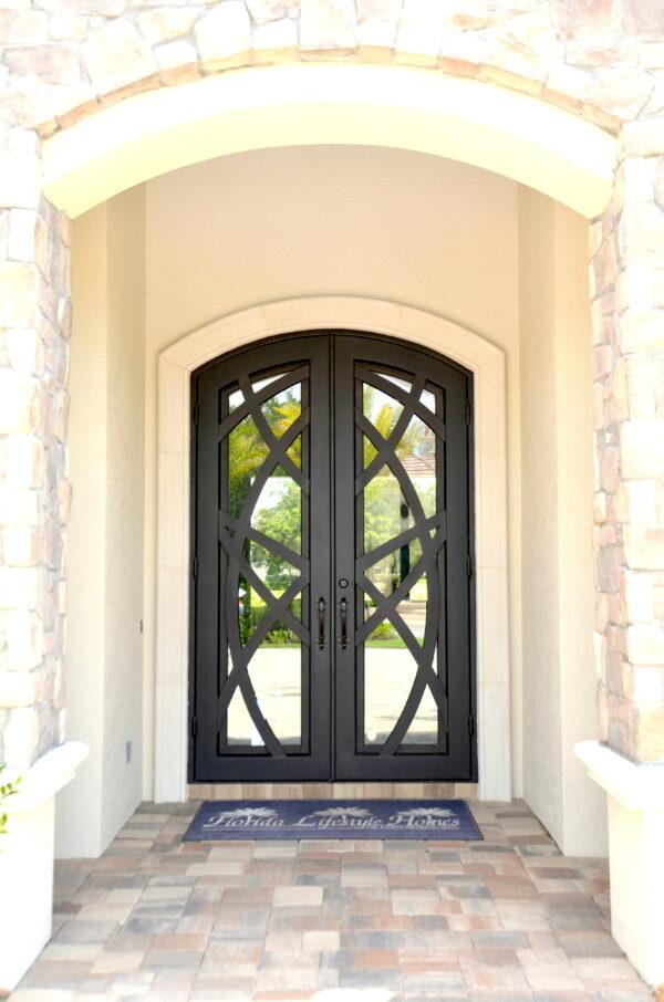 Custom Wrought Iron Doors   Suncoast Iron Doors   Fort Meyers, FL   Roma