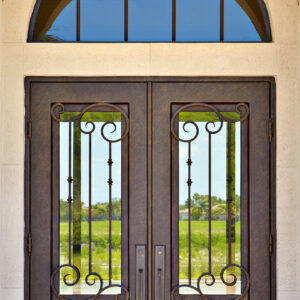 Custom Wrought Iron Doors | Suncoast Iron Doors | Fort Meyers, FL | Ruston