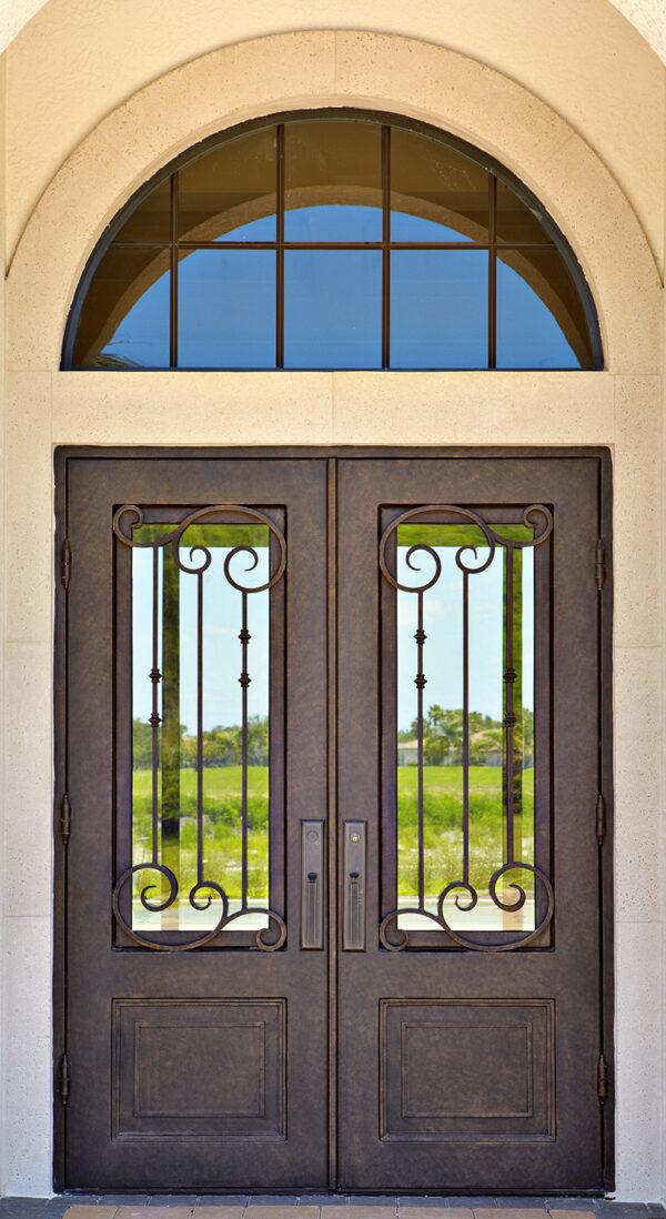 Custom Wrought Iron Doors | Suncoast Iron Doors | Fort Meyers, FL | Ruston