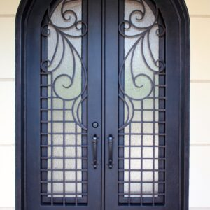Custom Wrought Iron Doors | Suncoast Iron Doors | Fort Meyers, FL | Snow
