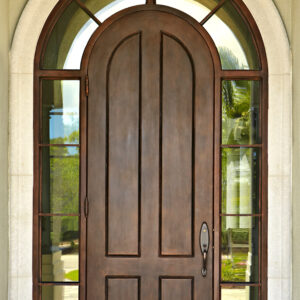 Custom Wrought Iron Doors | Suncoast Iron Doors | Fort Meyers, FL | Solid Surround