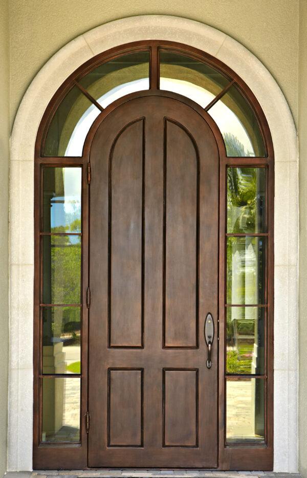 Custom Wrought Iron Doors | Suncoast Iron Doors | Fort Meyers, FL | Solid Surround