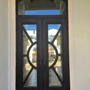 Custom Wrought Iron Doors | Suncoast Iron Doors | Fort Meyers, FL | Sunburst