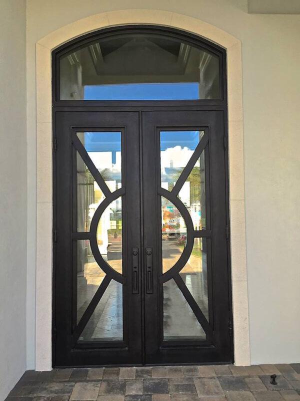 Custom Wrought Iron Doors | Suncoast Iron Doors | Fort Meyers, FL | Sunburst