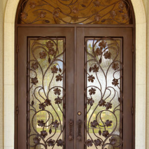 Custom Wrought Iron Doors | Suncoast Iron Doors | Fort Meyers, FL | Vineyard